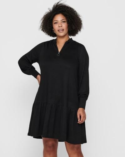 ONLY Carmakoma - tunika kjole - sort - CARPIXI