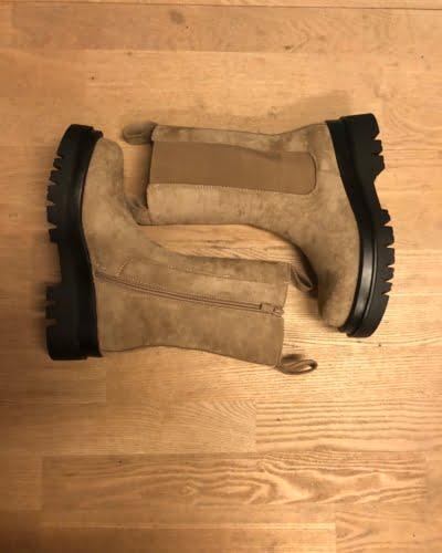 Paris - støvler - sand - Str. 37-40