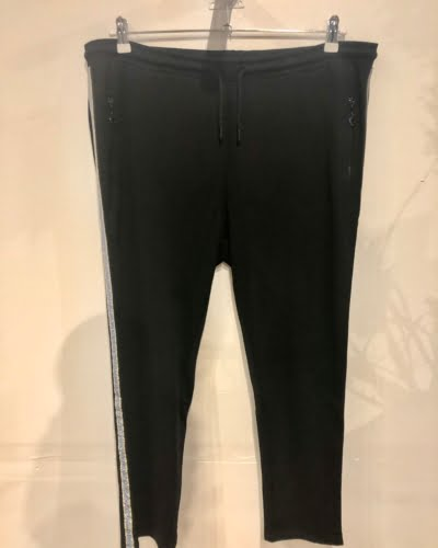 Cassiopeia - bukser - sort med glå/guld glimmer - SIGGI