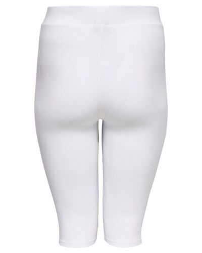 ONLY Carmakoma hvide korte leggings/knickers