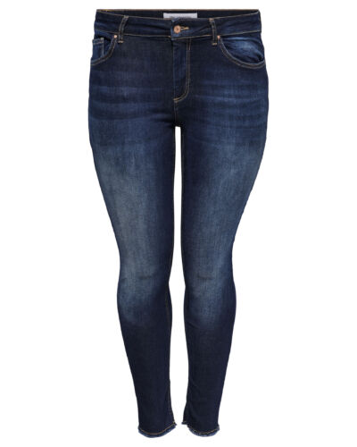 ONLY Carmakoma jeans med slid